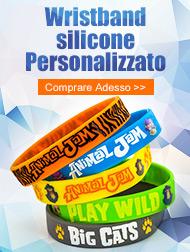 Wristband silicone Personalizzato